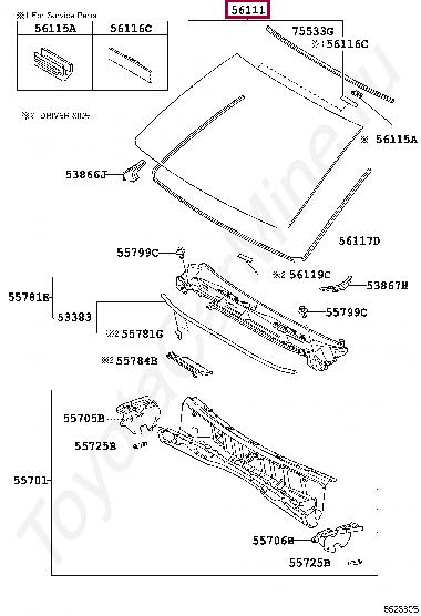 Замена лобового стекла ул зорге д 9
